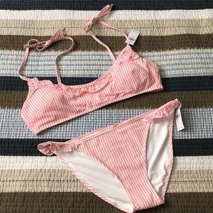 Aerie seersucker bikini NWT